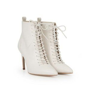 Frania Lace Up Stilletto Bootie
